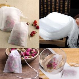 Lot 10X/20X/50X/100X Sachet de Thé vide Sac Filtre Infusion Passoire Tea Bag