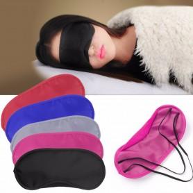 Masque de Nuit Sommeil Cache Yeux Anti Lumière Anti-Fatigue Voyage Ajustable