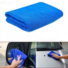 Lot de 2 X chiffons microfibre Chiffon voiture auto vitre 35cm 100% polyester