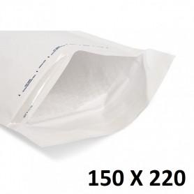5X Enveloppe Bulles Matelassées Blanches 150x220mm 15x22cm C/3 A5 CD Bulle