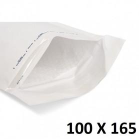 10X Enveloppe Bulles Matelassées Blanches 100x165mm 10x16,5cm A/1 Bijoux