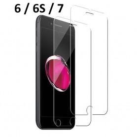 Verre Trempé 9H 2,5D écran Iphone 6 6S 7 Protecteur Vitre Anti Rayure Eclat
