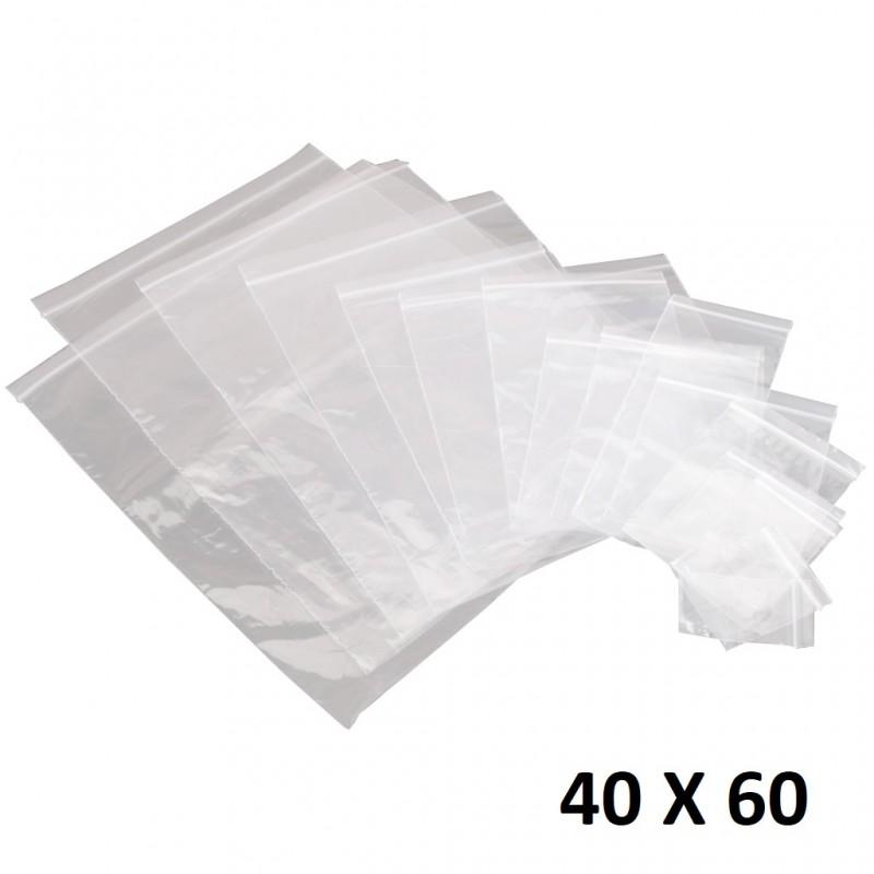 Lot de 500 sachets en plastique transparent 1 transparent 10 x 15 cm