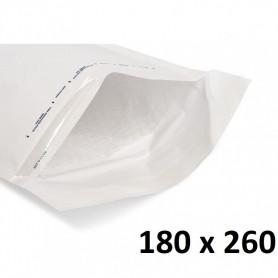 10X Enveloppe Bulles Matelassées Blanches 180x260mm 18x26cm D/4 Bulle A5+ DVD