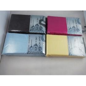 Drap housse 140 x 190 cm 100% Coton Couleur au choix
