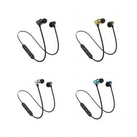 Écouteurs Sans Fil Bluetooth Casque Oreillette Stéréo Anti Bruit Sport Universel