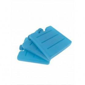 3X Brique Pain de Glace 8x7,5x1,5cm Bloc Glacière Congélation Conservation Froid