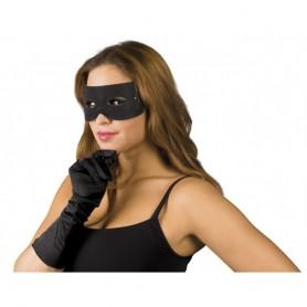 Masque Bandeau Noir de Bandit pour les Yeux Zorro Taille Adulte Déguisement