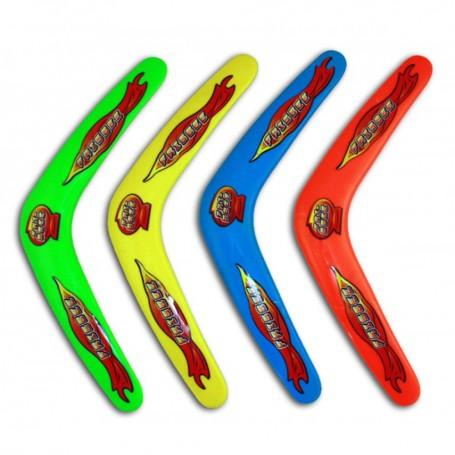 Boomerang 30 cm Jouet pour Enfant Jeu d'Extérieur 4 Couleurs Boumerang