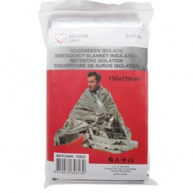 Couverture de Survie Urgence Isolation Thermique Imperméable 210 x 130 cm