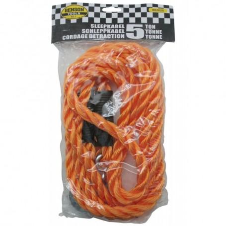 Corde de Remorquage Câble de Traction 5 Tonnes Max Sangle 3,5 Mètres