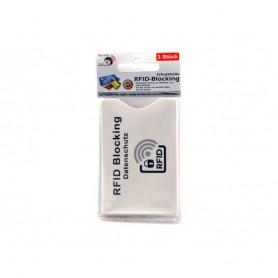 3 X Etui Porte Carte Protection Anti RFID Protège les Données de votre Carte