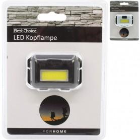 Lampe Frontale Réglable 2 LED 2 Modes 160 Lumen Lumière Jusqu'à 50 Mètres