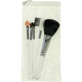 5 pcs Kit de Maquillage Cosmétique Pinceaux Brosse MakeUp Brush Blush