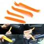 4pcs Kit Outils de Démontage Garniture Intérieure Voiture Porte Tableau de Bord