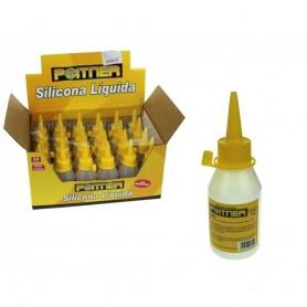 Colle Liquide Silicone Universelle Poitner 50 ml Carton Papier Tissu Mousse Bois