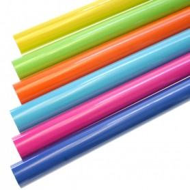 Lot 5X Rouleau de Papier Cadeau 200 x 70 cm Couleur au choix Emballage Cadeaux