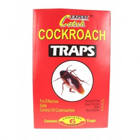 12 Pièges à Cafard Professionnels Trap Blattes avec Colle Glue Kit Pro