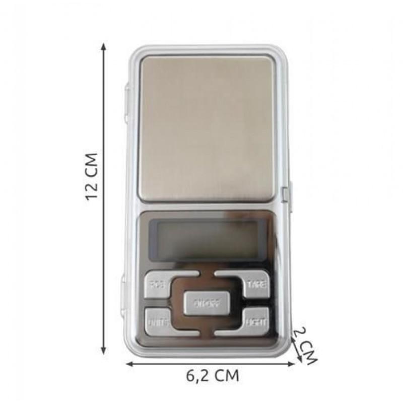 Balance de Précision électronique Pèse Bijoux Herbe Epices Courrier 0.1G à 500G