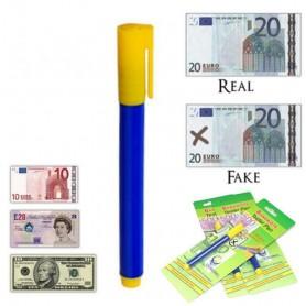 Stylo Testeur Feutre Détecteur de Faux Billet Fausse Monnaie Commerce