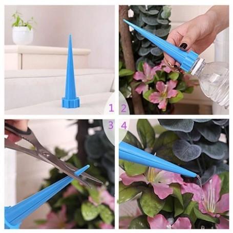 5 X Spike Embout d'Arrosage Plante Fleur Bouchon de Bouteille Goutte à Goutte
