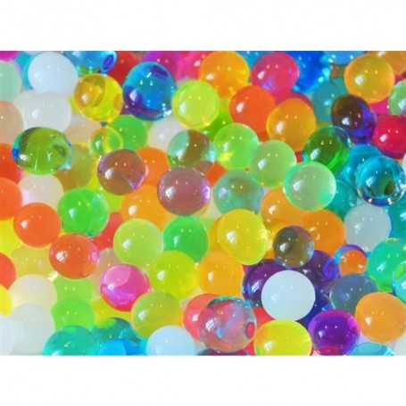5G Billes en Gel Multicolores pour Plantes Fleurs Rétention d'Eau Décoration