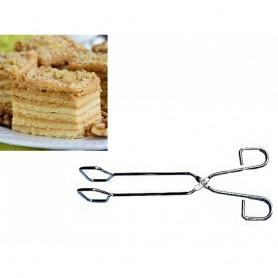 Pince à Gâteaux 26 cm pour Service Pâtisserie Décoration Ustensile de Table