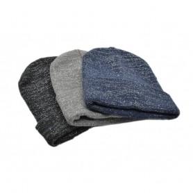 Bonnet Paillettes d'Hiver Scintillant Adulte Femme Homme en Coton et Acrylique
