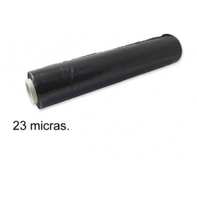 Rouleau Film Palette étirable Professionnel 2KG Noir 50cm x 330M 23 Microns