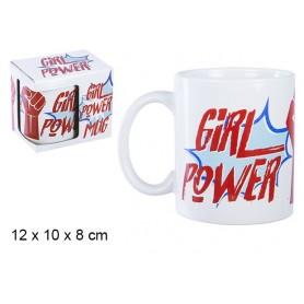"""Tasse Mug Engagée Céramique Féministe """" Girl Power """" """" Pouvoir aux Femmes """""""
