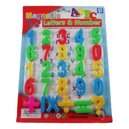 26 Chiffres Magnétiques Aimants Apprentissage des Nombres Calculs Enfant