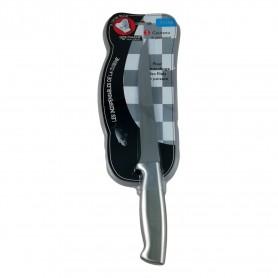 Couteau à Poisson Professionnel en Acier Inoxydable 32,5cm Peau Lamelles