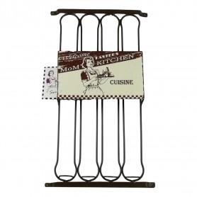 Support de dosettes à café Capsule Nespresso en métal longueur 38cm rangement