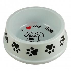 """Grande gamelle pour chien 18,5cm"""" I love my dog """" j'aime mon chien"""