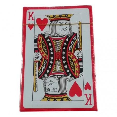 1 Paquet de 54 Cartes à Jouer Jeu Poker Bridge Rami Bataille