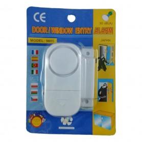 Alarme de Sécurité pour Fenêtre Porte Anti Intrusion Signal Sonore 90 dB