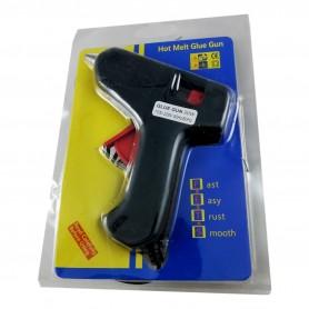 Pistolet à Colle électrique 20W Thermofusible pour Cartouche de Colles