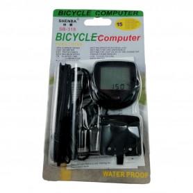 Compteur de Vitesse Vélo étanche Ordinateur Digital Chronomètre 14 Fonctions
