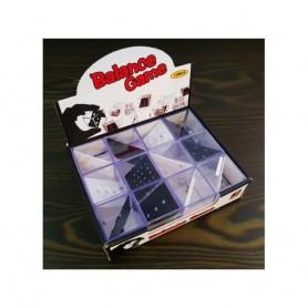 Lot de 2X Casse Tête Cube Puzzle à Billes et Trou Labyrinthe en Métal