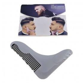 Peigne à Barbe Coiffe Moustache et Outil de Coupe pour Rasage 11 x 9 cm