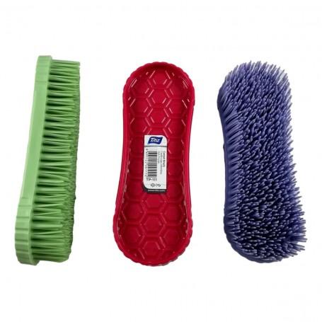 Brosse de Nettoyage Vêtements Anti Bouloche Poils Cheveux 15,5 cm Plastique