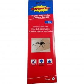 4 Pièges à Colle pour Araignées Nuisibles Insectes Rampants Anti Spider