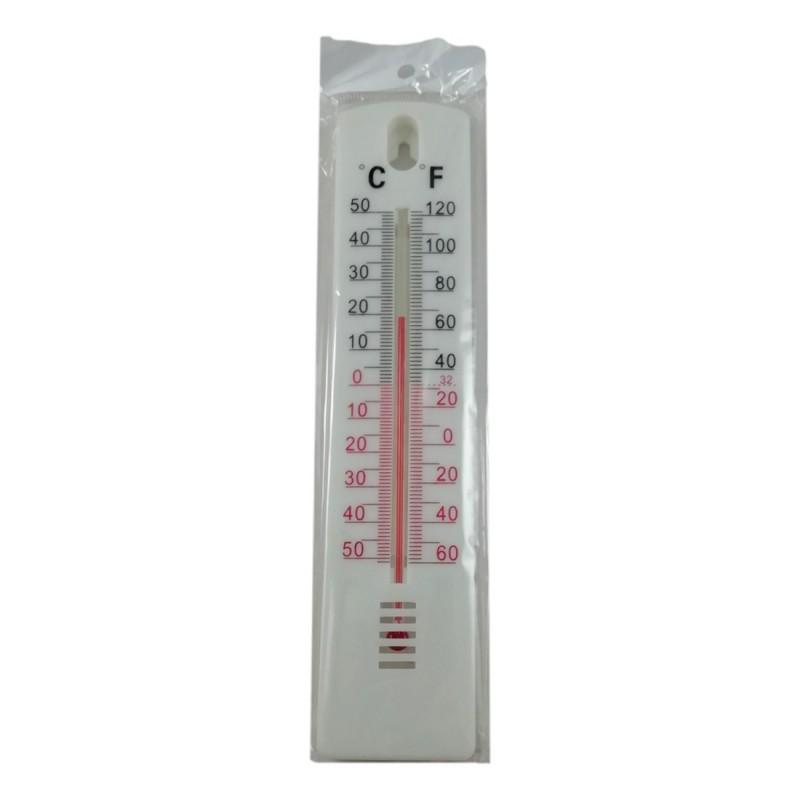 Thermomètre Extérieur Blanc Température -50 à +50°C Piscine Jardin Serre °F