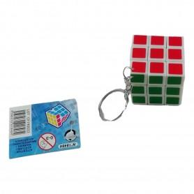 Porte clé Rubis Cube 3,5 x 3,5 cm Porte-Clés Cube Puzzle Casse Tête