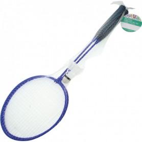 Set de 2 Raquettes de Badminton + 1 Volant Sport de Raquette Jeu Plage Jardin