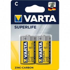 2 Piles VARTA Superlife Bébé C 1,5V 2014 R14 MN1400 EN93 Batterie Longue Durée