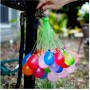 Bouquet de 37 Bombes à Eau Ballon Jeu d'été avec Remplissage Facile au Robinet