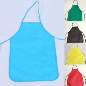 Tablier de Cuisine Peinture Bricolage pour Enfant Bavoir 5 couleurs
